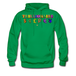 Trillionaire  Hoodie   (Adult) - kelly green