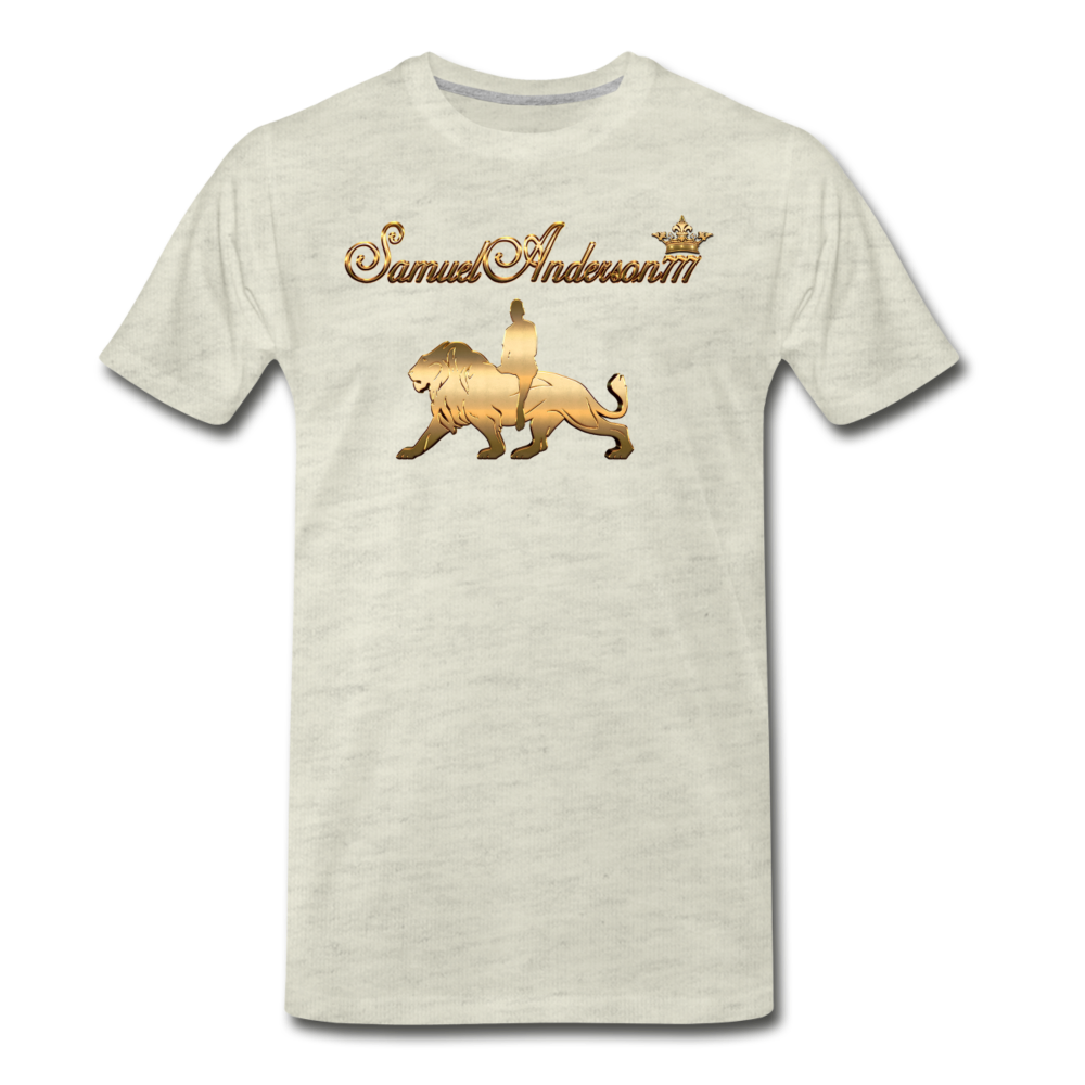 Quality Premium T-Shirt - SamuelAnderson777 - heather oatmeal