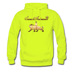 SamuelAnderson777 - The Brand Hoodie - safety green