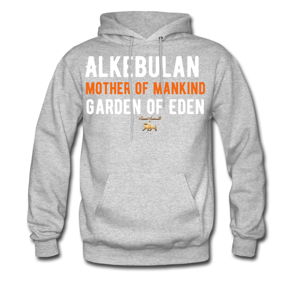 Alkebulan Hoodie - heather gray