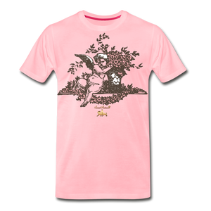 Chilling with an Angel Premium T-Shirt - pink