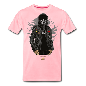 Space Fighter Premium T-Shirt - pink