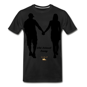 Old School Swag Premium T-Shirt - black