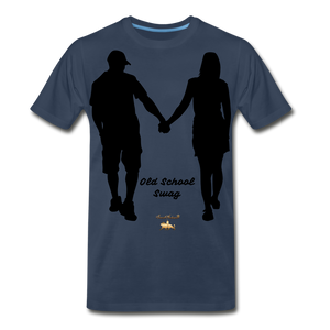 Old School Swag Premium T-Shirt - navy
