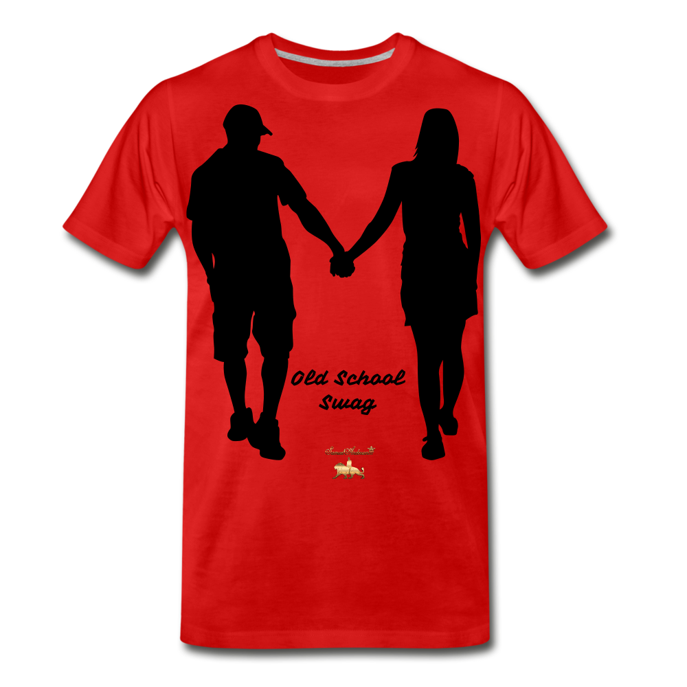 Old School Swag Premium T-Shirt - red
