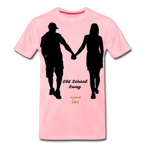 Old School Swag Premium T-Shirt - pink