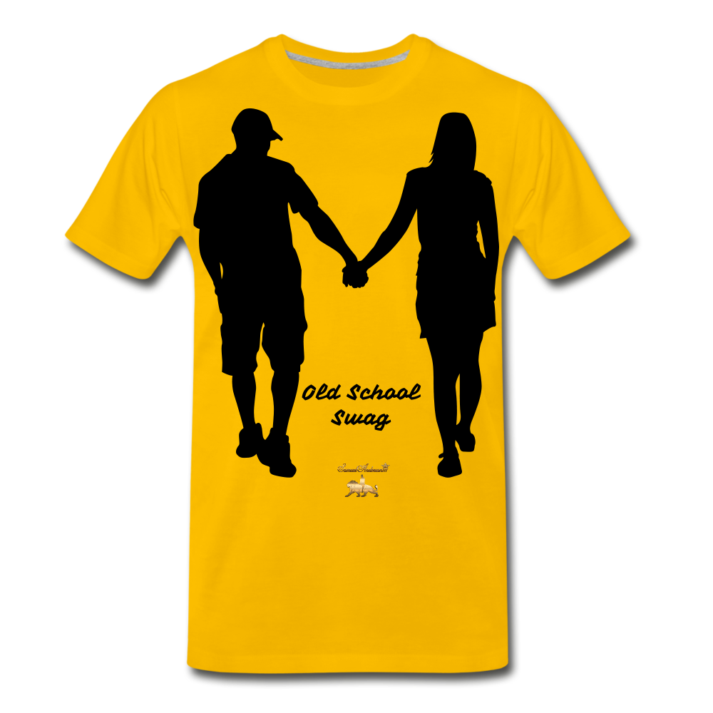 Old School Swag Premium T-Shirt - sun yellow