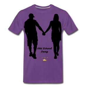 Old School Swag Premium T-Shirt - purple