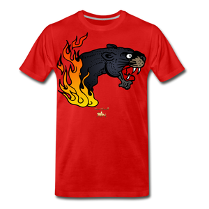 Dead Serious Premium T-Shirt - red
