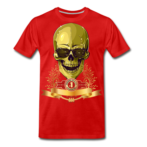 Original Quality Guaranteed Premium T-Shirt - red