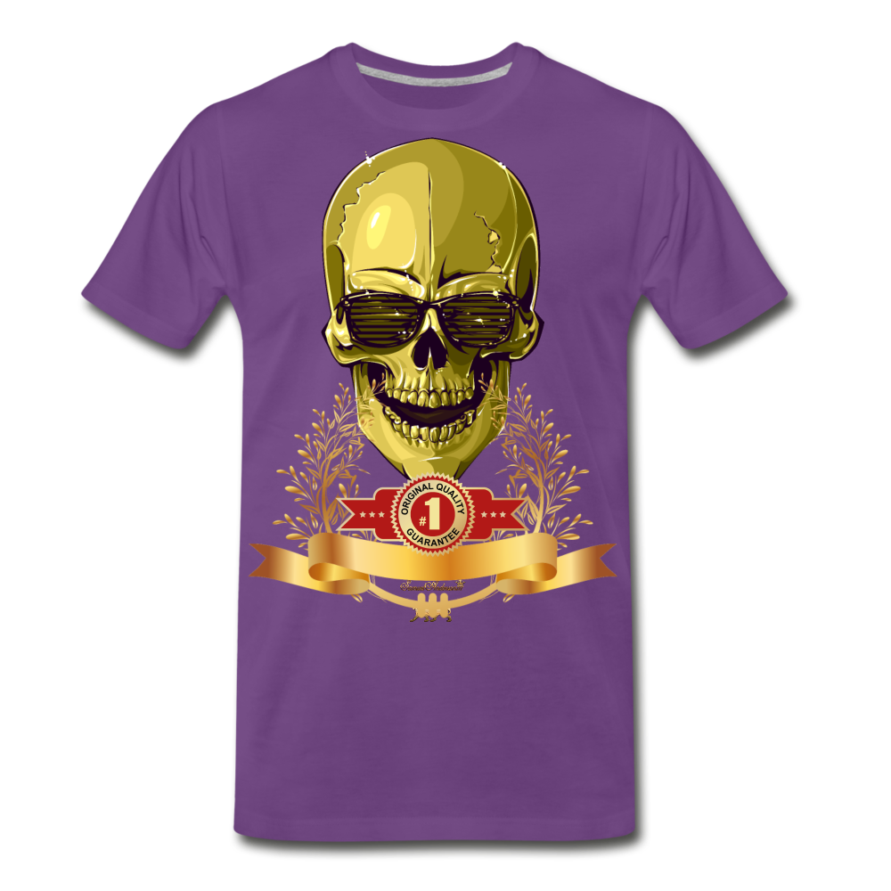 Original Quality Guaranteed Premium T-Shirt - purple