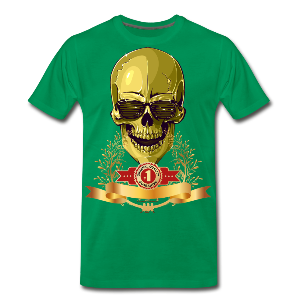 Original Quality Guaranteed Premium T-Shirt - kelly green