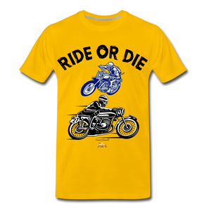 Ride or Die Premium T-Shirt - sun yellow