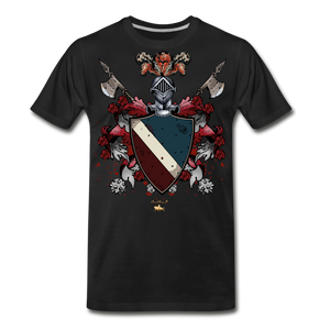 Glorious Black Knight Premium T-Shirt - black