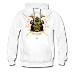 Fight or Flight Premium Hoodie - white