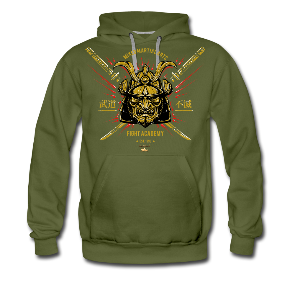 Fight or Flight Premium Hoodie - olive green