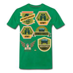 Untouchable Angels Men's Premium T-Shirt - kelly green