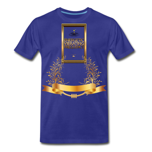 Energetic Vibrating Frequency Premium T-Shirt - royal blue