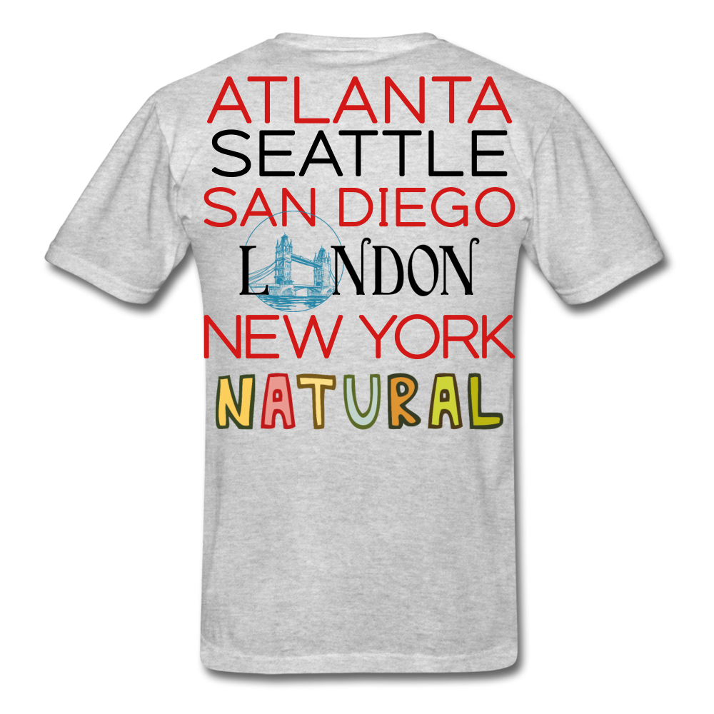 Locations Men's T-Shirt - heather gray