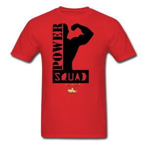 Power Squad Men's T-Shirt - red