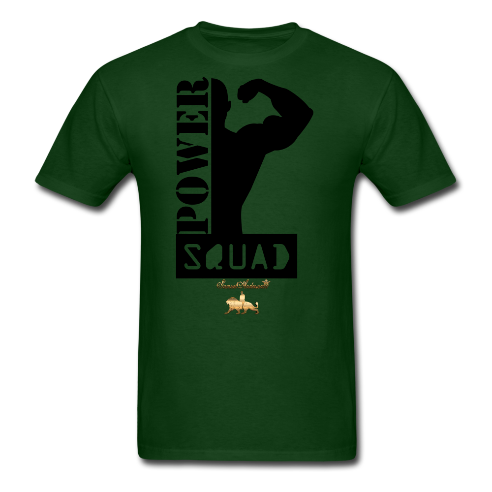 Power Squad Men's T-Shirt - forest green
