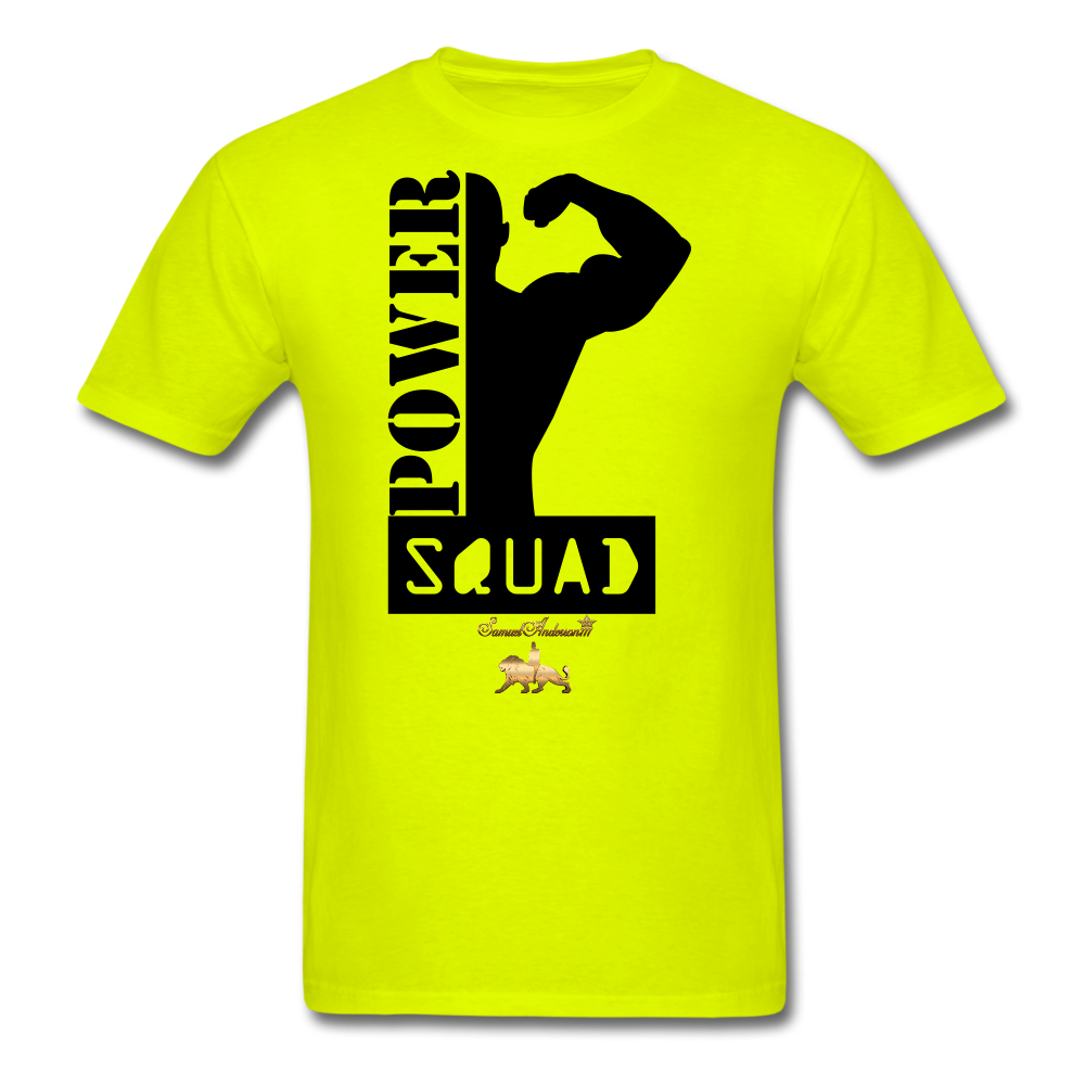 Power Squad Men's T-Shirt - safety green