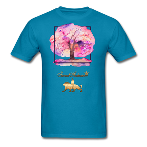 Tree of Life Men's T-Shirt - turquoise