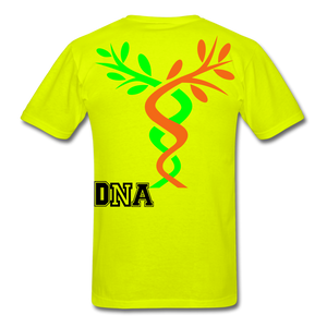 Tree of Life Men's T-Shirt - safety green
