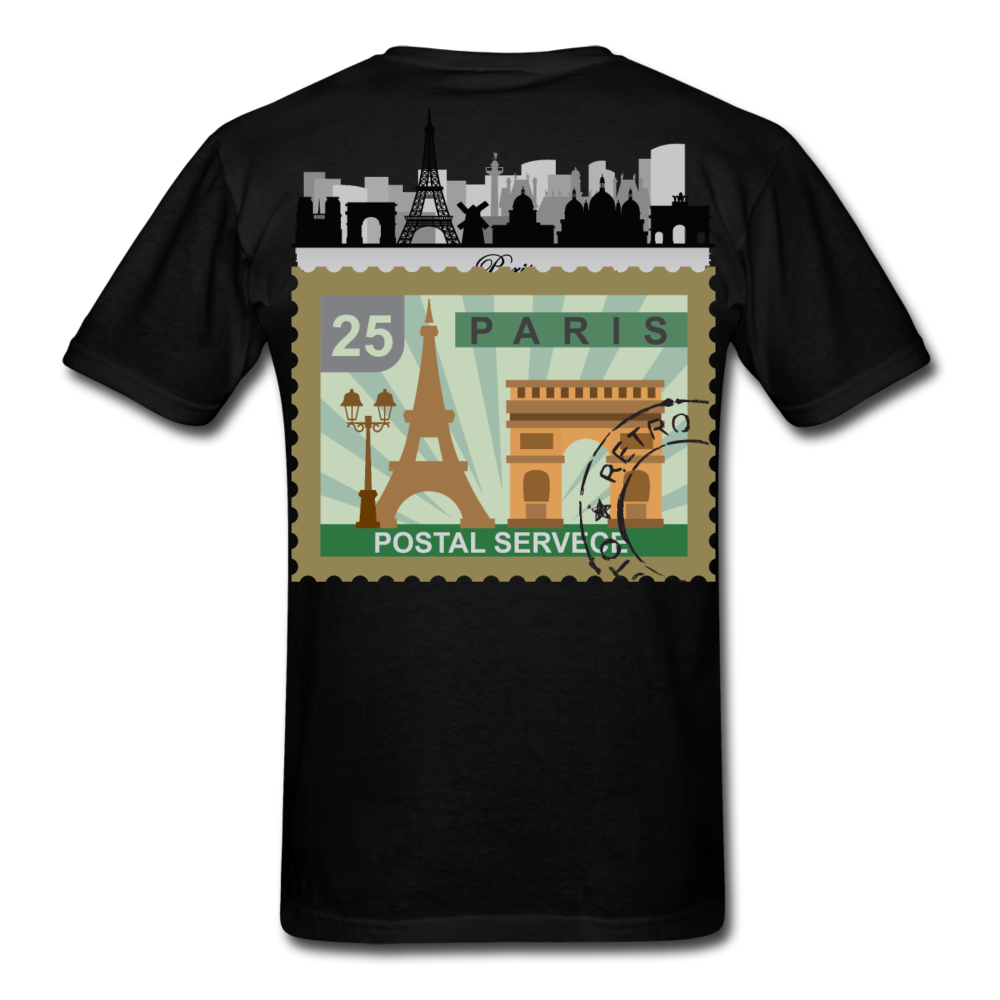 Paris Men's T-Shirt - black