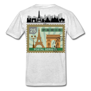 Paris Men's T-Shirt - light heather gray