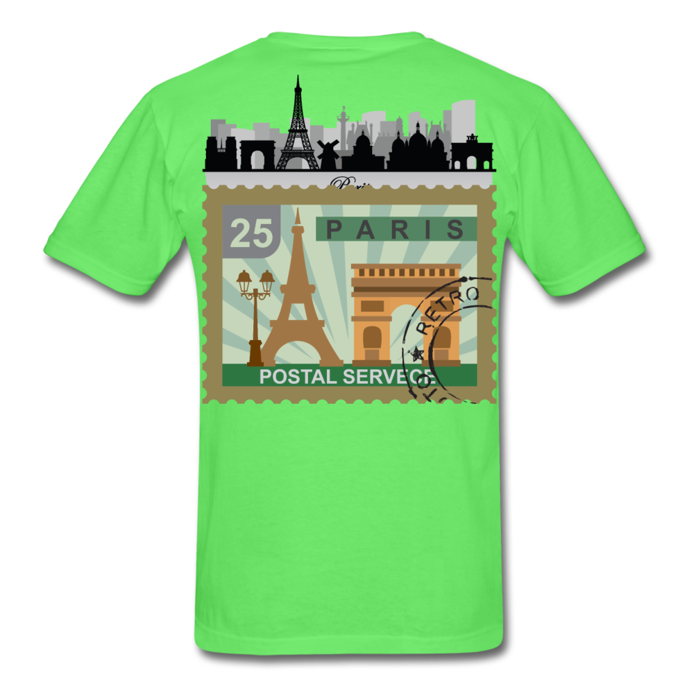 Paris Men's T-Shirt - kiwi