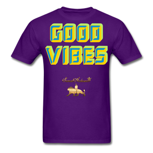 Good Vibes Only Men's T-Shirt - purple