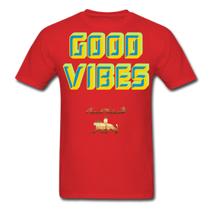 Good Vibes Only Men's T-Shirt - red
