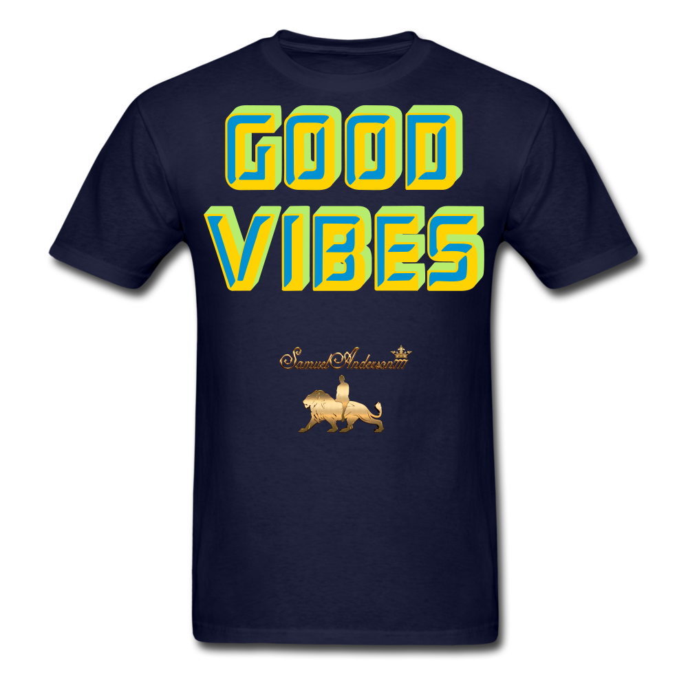 Good Vibes Only Men's T-Shirt - navy