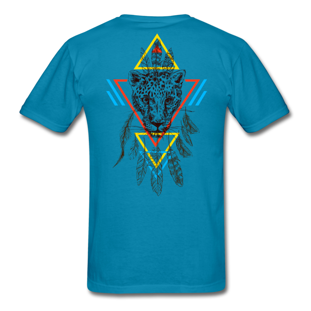 Good Vibes Only Men's T-Shirt - turquoise