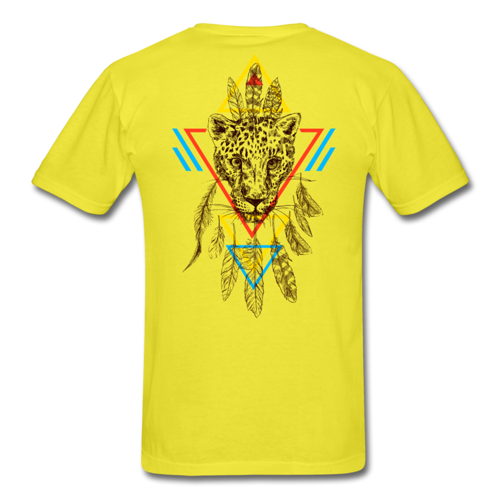 Good Vibes Only Men's T-Shirt - yellow