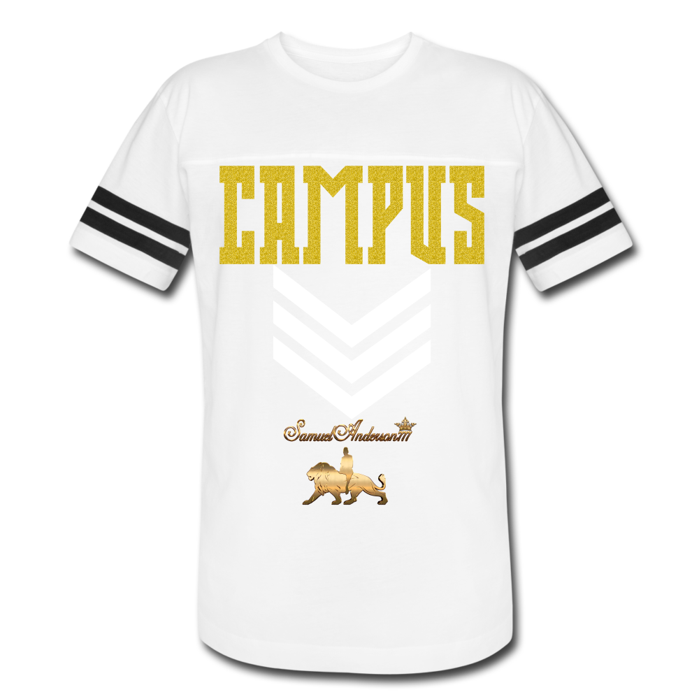 Top Campus Military PREMIUM Vintage Sport T-Shirt - white/black
