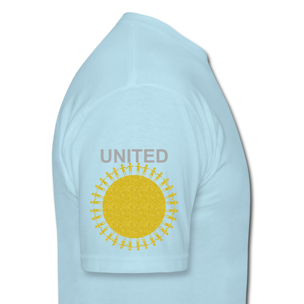 UNITE Unisex Classic T-Shirt - powder blue