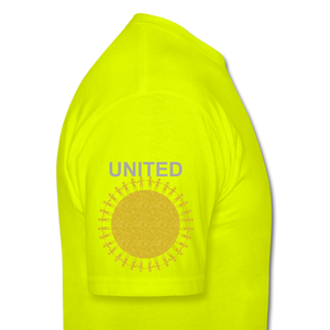 UNITE Unisex Classic T-Shirt - safety green