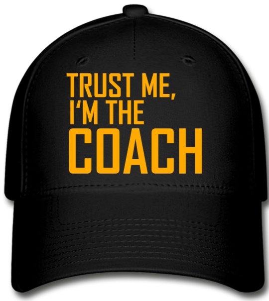 The COACH Baseball Cap - black