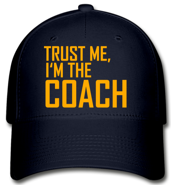 The COACH Baseball Cap - navy