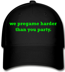 Pre-Game Vibes Baseball Cap - black