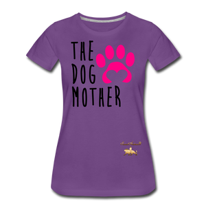 The Dog Mother Women's Premium T-Shirt - purple