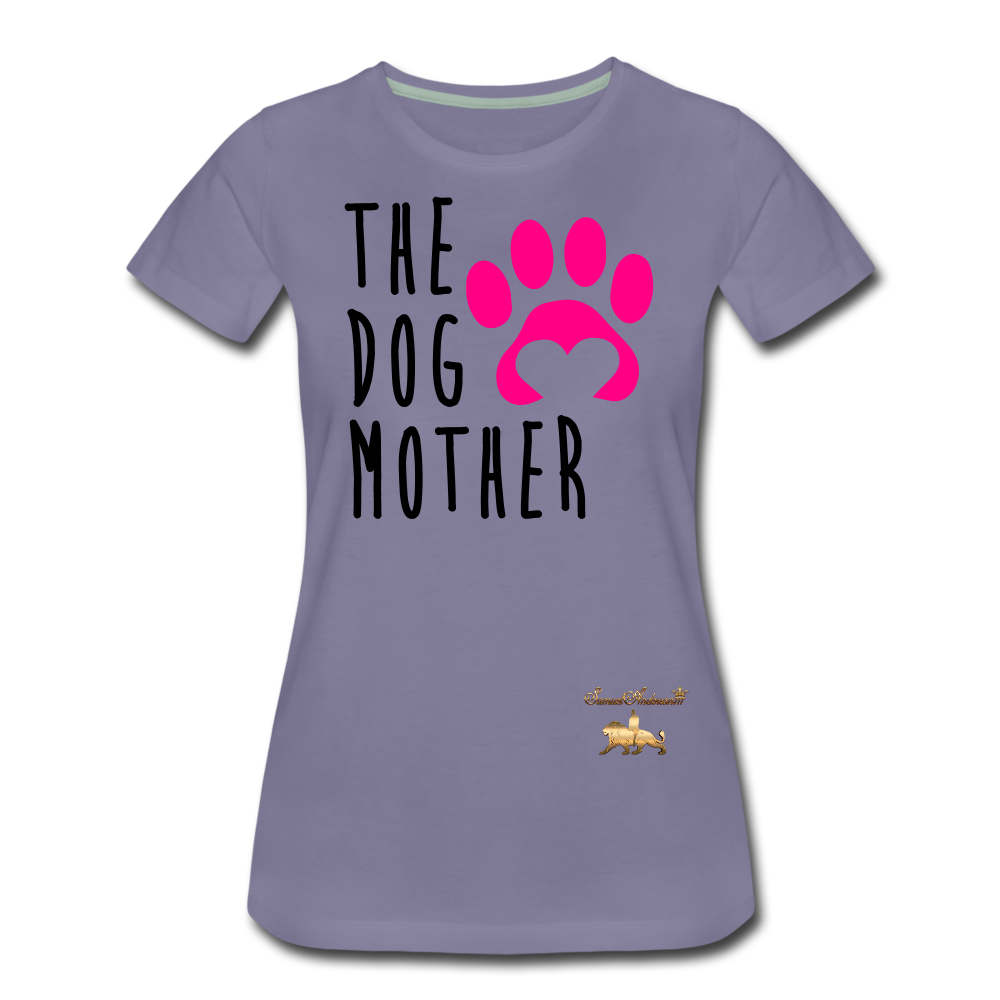 The Dog Mother Women's Premium T-Shirt - washed violet