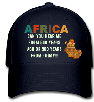 Africa, Can you Hear Me!! Cap - navy