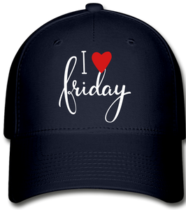 I Love Fridays!!!!!! Baseball Cap - navy