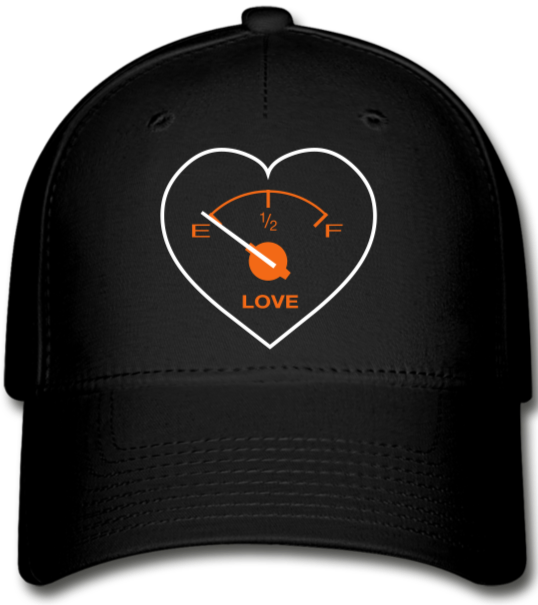 Empty Love Baseball Cap - black