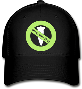 Stop the War  Baseball Cap - black