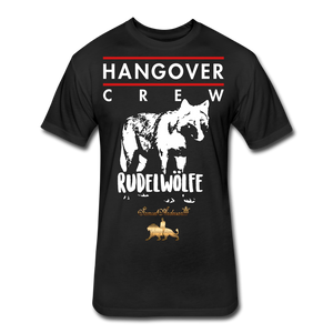 Hangover Crew  Fitted Cotton/Poly T-Shirt - black