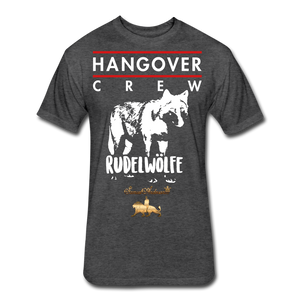 Hangover Crew  Fitted Cotton/Poly T-Shirt - heather black